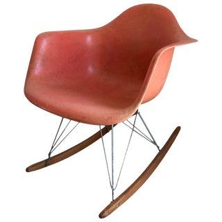 Early Eames for Herman Miller Rocker For Sale