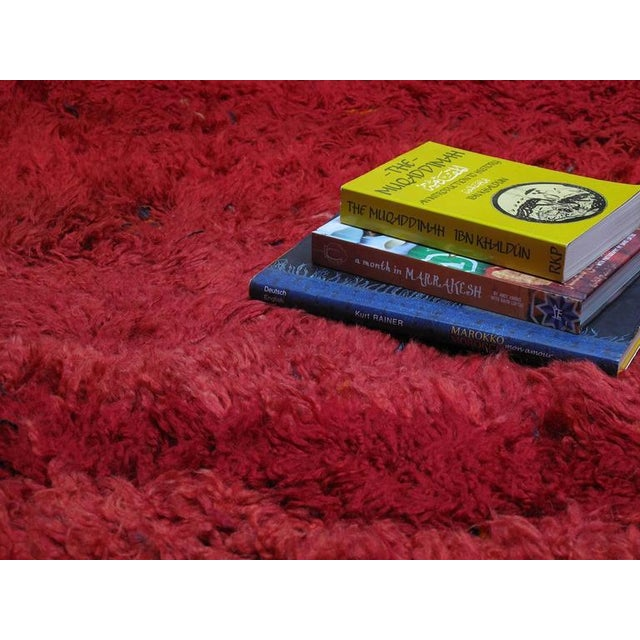 "1950s ""Firebird"", Zayan Moroccan Berber Carpet For Sale - Image 5 of 10"