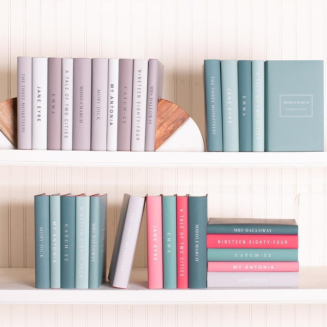 Not Yet Made - Made To Order The Modern Classics Book Collection - Set of 10 in Bright Colors For Sale - Image 5 of 6