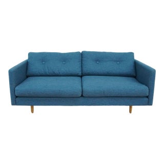 Article Blue Upholstered Sofa For Sale