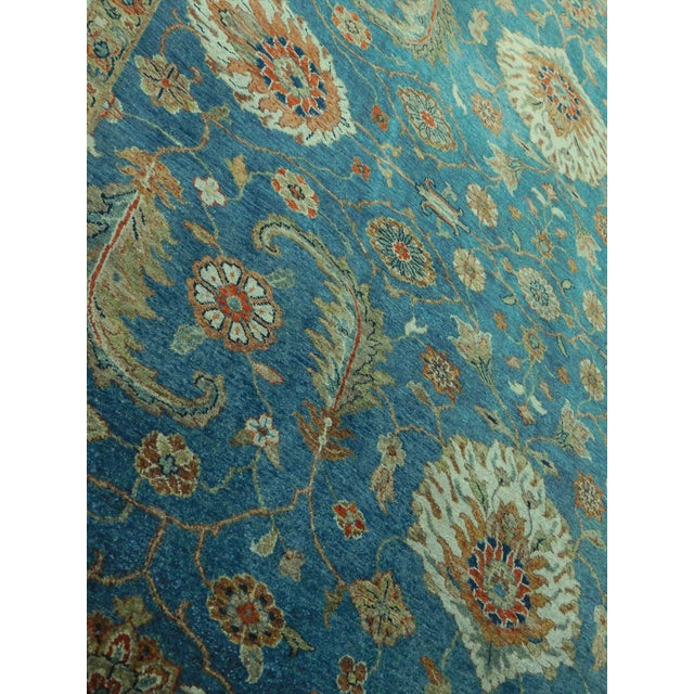 "Hand-Knotted Indo-Persian Rug- 8'1""x 9'5"" - Image 8 of 10"