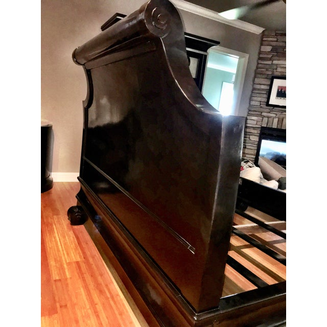 Gold Marge Carson Cezanne King Bed For Sale - Image 8 of 12