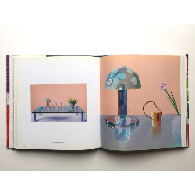 """ David Hockney a Retrospective "" 1st Edtn Vintage 1988 Collector's Hardcover Art Exhibition Book For Sale - Image 9 of 12"