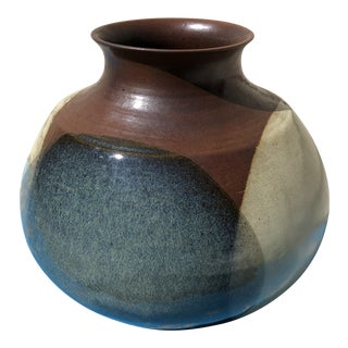 Robert Maxwell Style Pottery Craft Art Pottery Vase For Sale