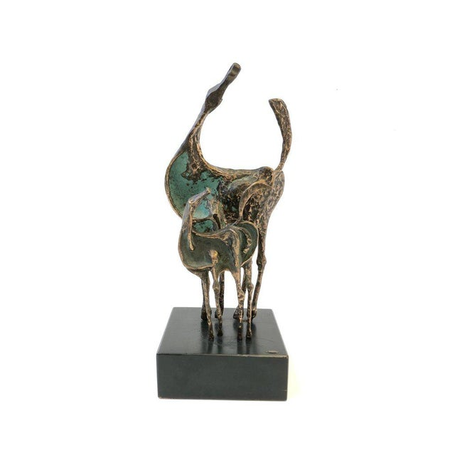 Bronze Horses Sculpture by Curtis Jere For Sale In Palm Springs - Image 6 of 10