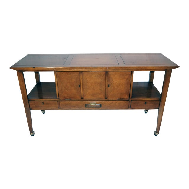 Mid-Century Modern Bar Cart - Image 1 of 8