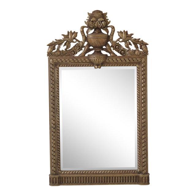 1990s Vintage Maitland Smith Ornate Gold Framed Kuba Framed Mirror For Sale - Image 9 of 9
