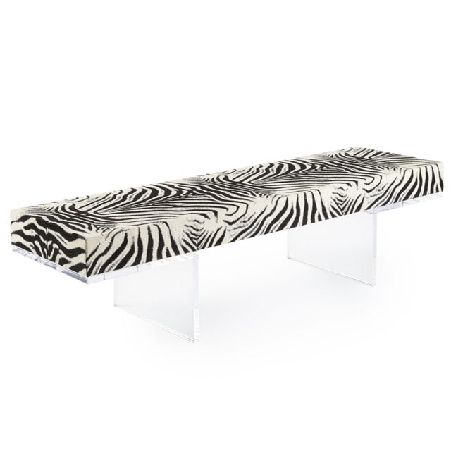 Lucite Square Feathers Milo Cocktail Tables For Sale - Image 7 of 7