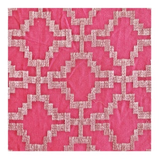 Schumacher Sarana Embroidery Designer Fabric by the Yard For Sale