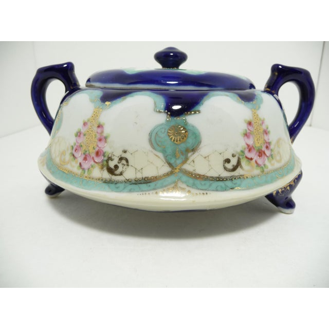 Antique Nippon Biscuit Jar - Image 2 of 7