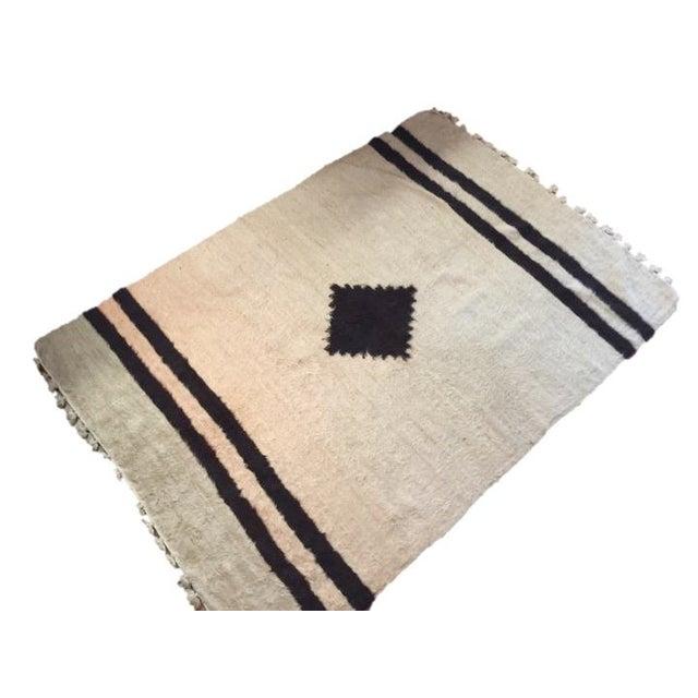 Navajo Style Wool Rug - 4′8″ × 6′9″ - Image 1 of 6