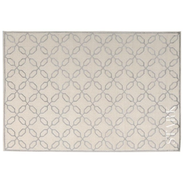 """Stark Studio Rugs Contemporary Linen Soumak Rug - 6'2"""" x 8'10"""" To care for your rug, it's best to have your rug cleaned by..."""