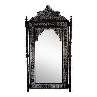 Moroccan XXl Handmade Wall Mirror For Sale