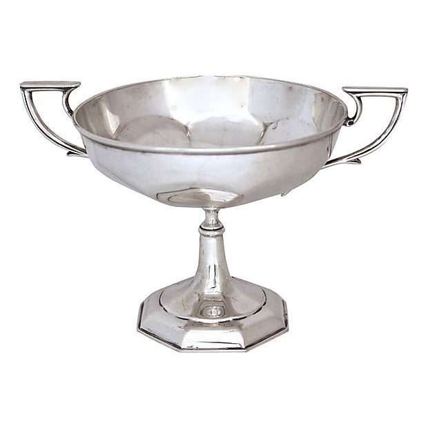 1916 English Sterling Silver Blank Trophy