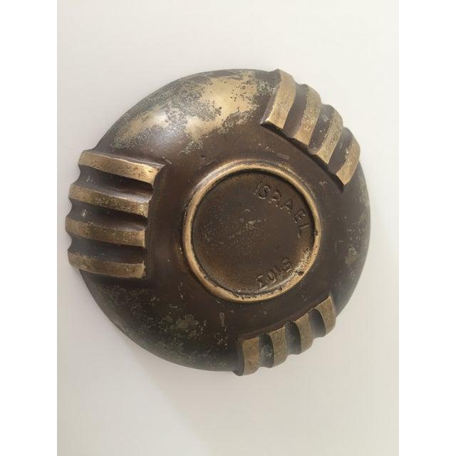 Mid-Century Modern 1960s Vintage Maurice Ascalon Bronze Bowl For Sale - Image 3 of 4