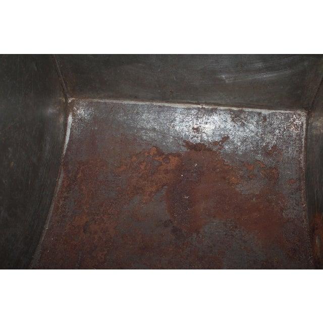 Antique Tea Bin/Side Table For Sale - Image 9 of 13