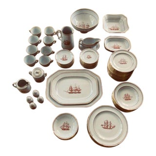 Copeland Spode Trade Winds Dinnerware Set - 96 Pieces