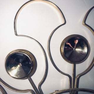 Mid 20th Century Mid-Century Modern Starburst Gold Clock Preview
