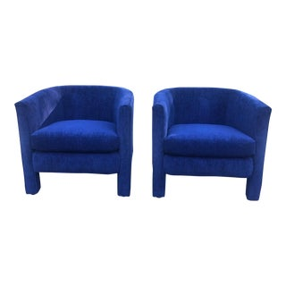 1970s Vintage Drexel Heritage Parsons Chairs- a Pair For Sale