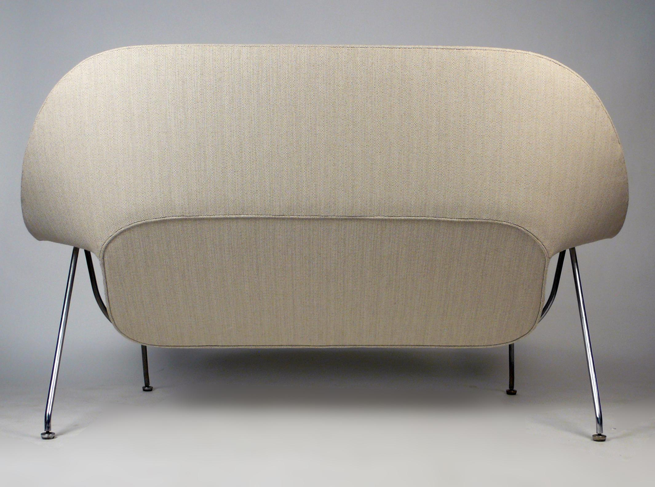 Attrayant 1950s Womb Sofa By Eero Saarinen For Knoll For Sale   Image 5 Of 10