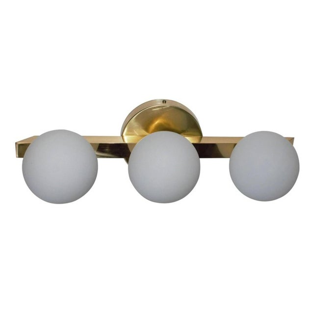 Italian Terzetto Sconces / Flush Mounts by Fabio Ltd (6 Available) For Sale - Image 3 of 6