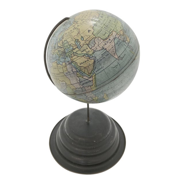 Vintage 1960s Tin Globe - Image 1 of 4