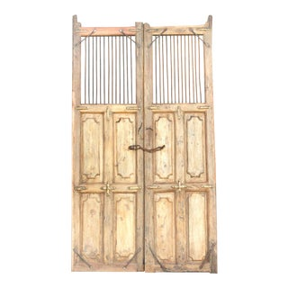 Antique 19th Century Colonial Rustic Doors For Sale