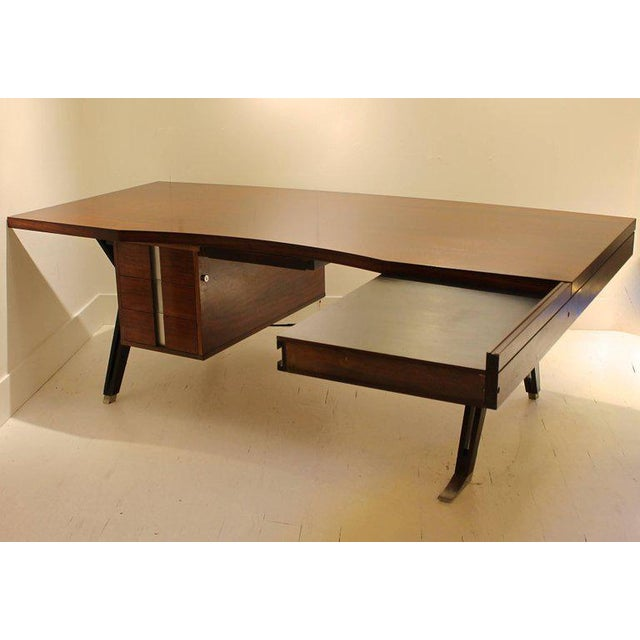 """Terni"" Ico Parisi Desk for Mim Editions, Italy 1958 For Sale - Image 10 of 10"
