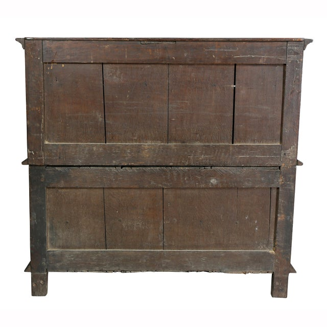 Jacobean Oak Chest of Drawers For Sale - Image 11 of 12