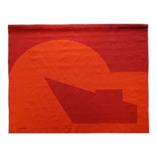 "Handwoven Modern Tapestry by Émile Gilioli - ""Vers Le Jour"" For Sale"