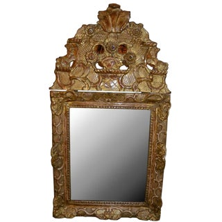 18th C. French Regency Mirror of Small Size For Sale