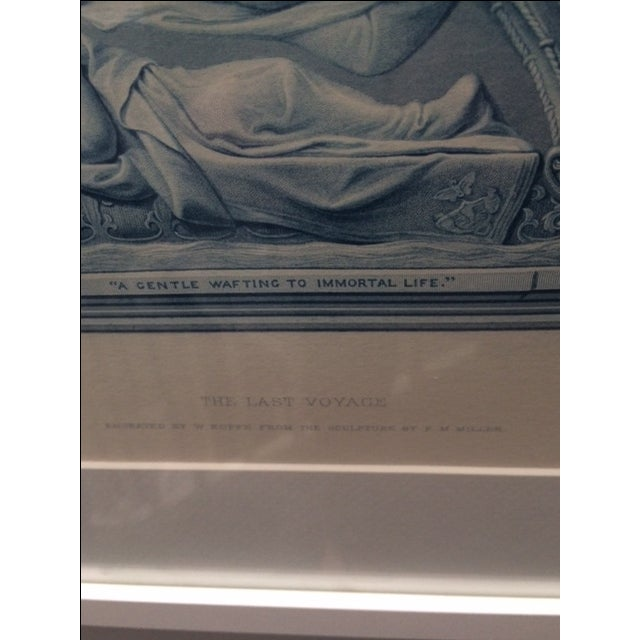 """Antique Collector's """"The Last Voyage"""" Engraving - Image 9 of 9"""