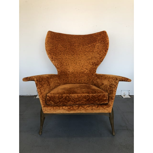 Two things you probably won't see again: 1. This chair. 2. A bad angle on this chair. The piece is from the 1970s, by Ben...