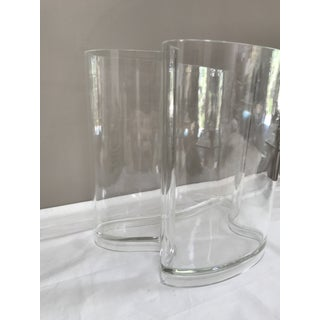 Lucite, Organically Shaped Vase by Guzzini, Italy Preview