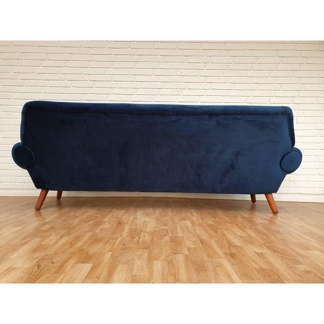 1960s 1960s Vintage Kurt Østervig Danish 3 Seater Sofa For Sale - Image 5 of 13