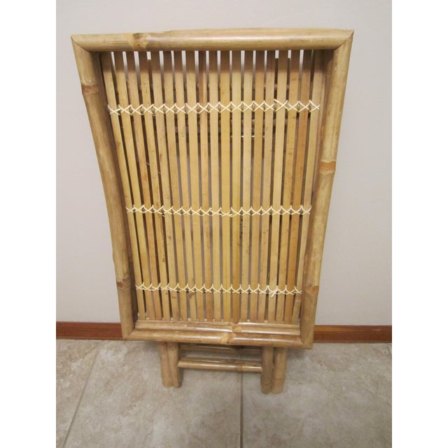 Bamboo & Rattan Table Tray - Image 10 of 11