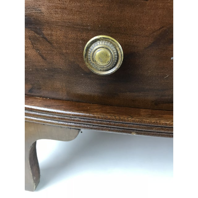 Charming solid wood curio display dhelf. Easiy sits on top of any piece of furniture , desk, table, etc.. single drawer on...