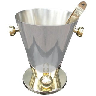 Art Deco Inspired Champagne Cooler/ Ice Bucket For Sale