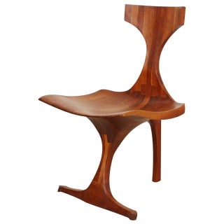 1960s Vintage Jack Rogers Hopkins Sculptural Chair For Sale