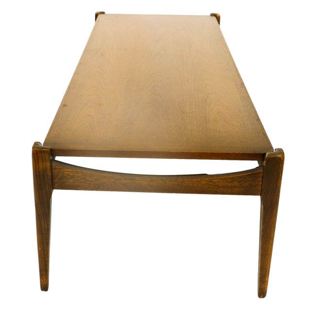 Bassett Mid-Century Modern Coffee Table - Image 10 of 10
