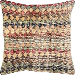 "Nalbandian - 1960s Turkish Art Deco Pillow - 20"" X 20"" For Sale"
