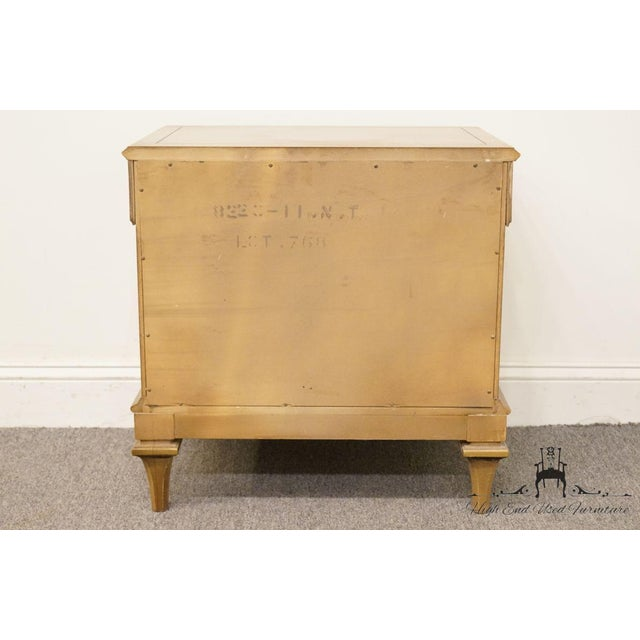 Late 20th Century Vintage American of Martinsville Nightstand For Sale - Image 10 of 12