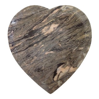 Heart Shaped Marble Paperweight For Sale