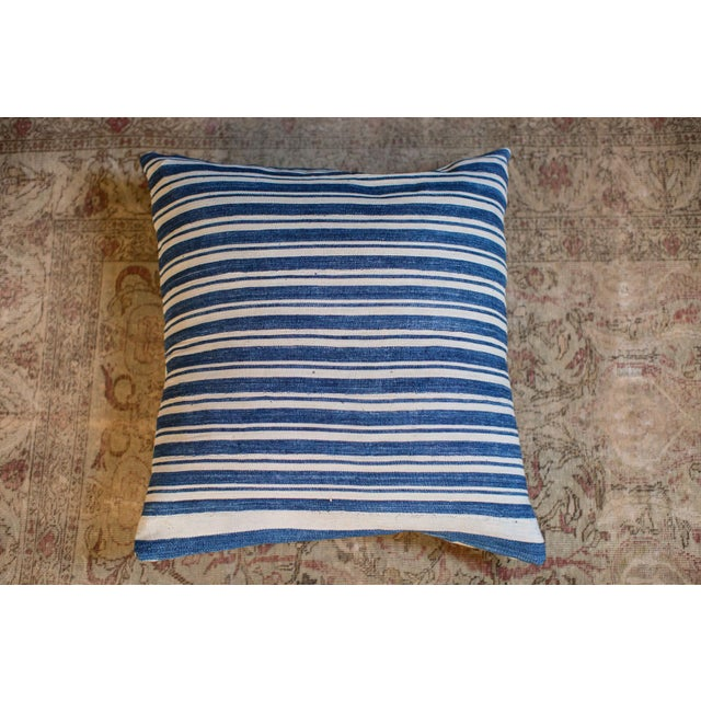 Oversize Indigo Blue Pillow - Image 2 of 6