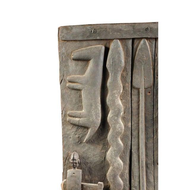 Monumental Hardwood African Granary Door - Image 3 of 9