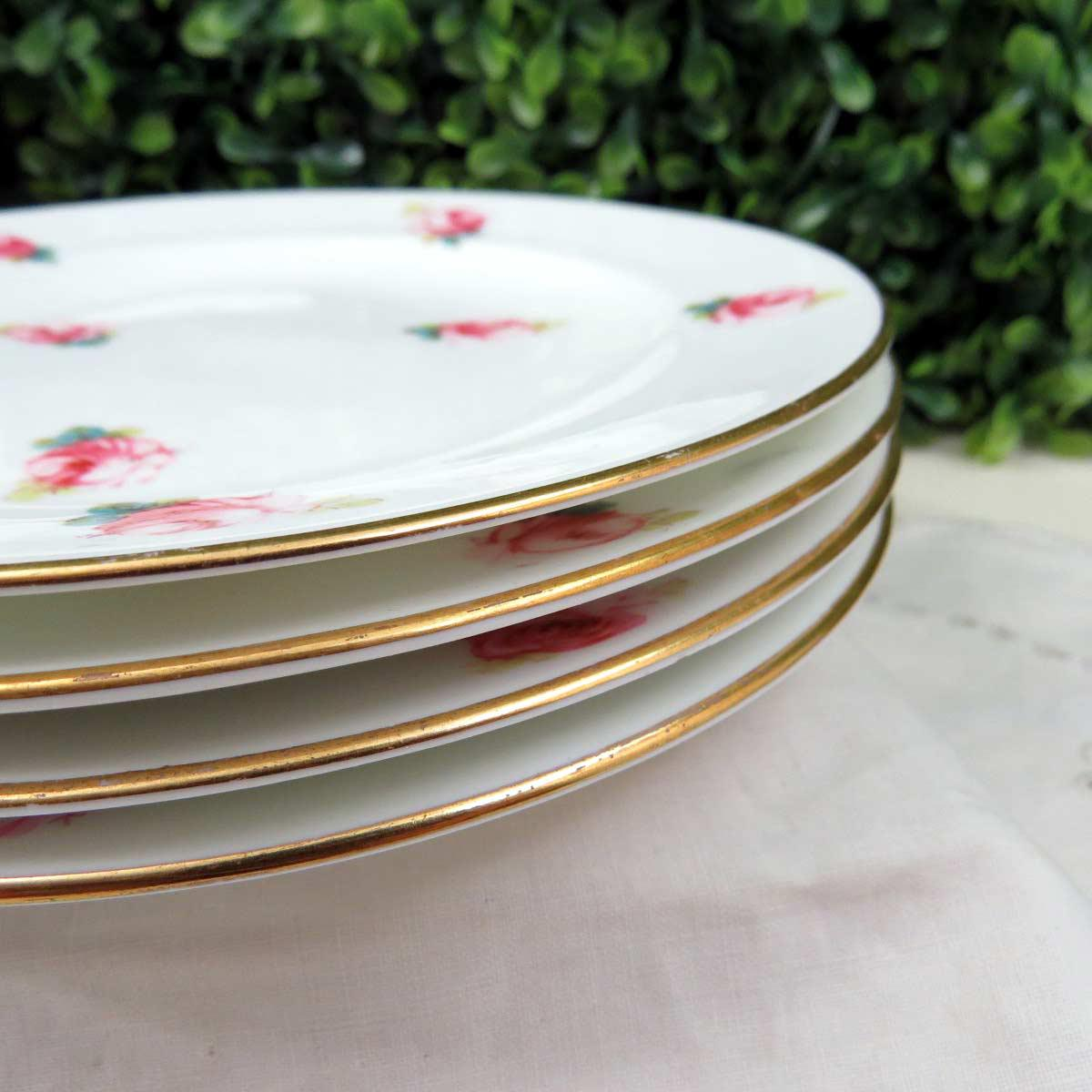Royal Crown Derby Dessert Plates - Set of 4 - Image 7 of 11 & Royal Crown Derby Dessert Plates - Set of 4 | Chairish