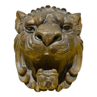 Resin Lion Head Wall Hook For Sale