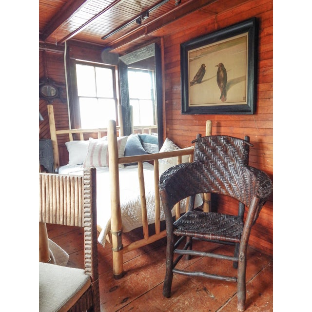 Old Hickory Armchair For Sale - Image 10 of 10