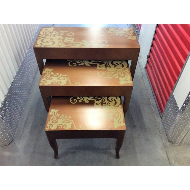 Contemporary Nesting Tables - Set of 3 - Image 8 of 8