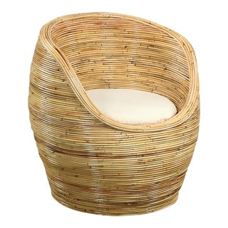 Woven Barrel Chair